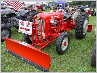 The 601 Workmaster series tractor