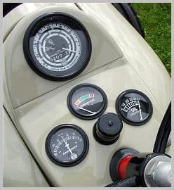 The NAA and Hundred series tractor dash panel