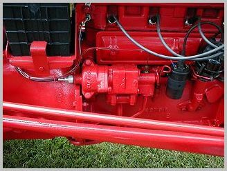 The original NAA hydraulic pump was the vane type that ran whenever the engine did  which meant the hydraulics always worked as long as the tractor was running